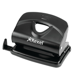 Rexel V220 2 Hole Metal Punch Black