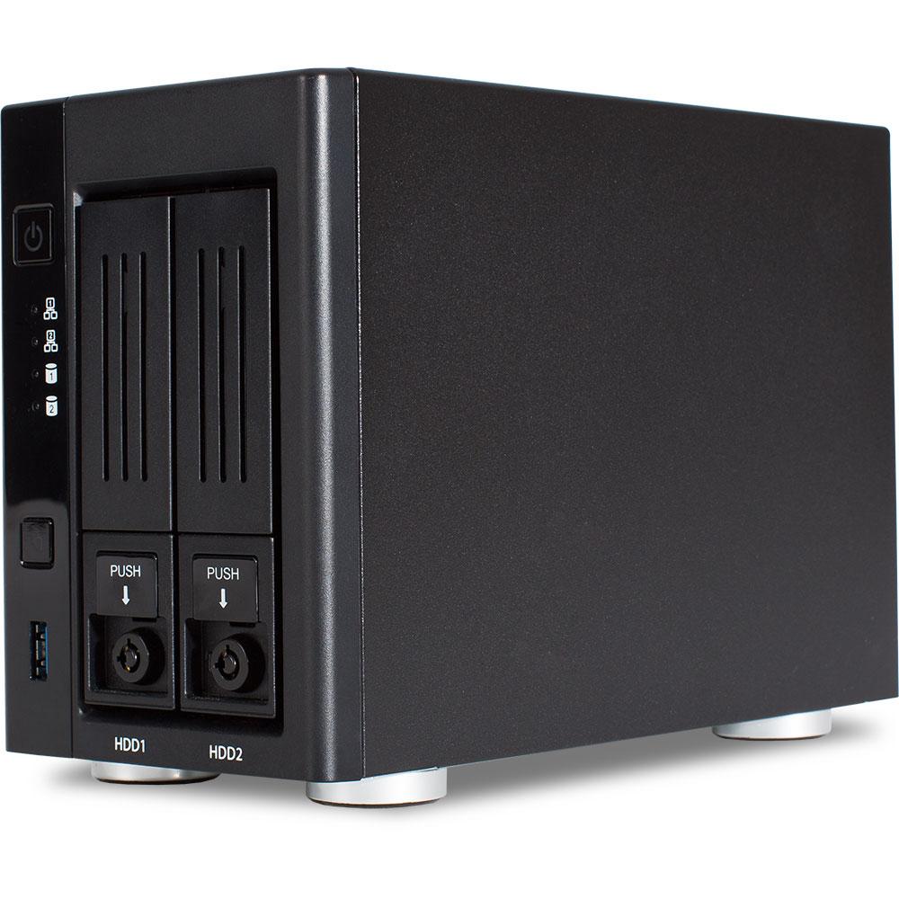 Wortmann AG TERRA NASBOX 2-0000 Ethernet LAN Desktop Black NAS