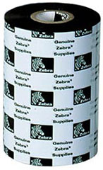 Zebra 5555 Enhanced Wax/Resin, 110mm cinta para impresora