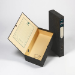 Rexel Classic Foolscap Lockspring Box File Black/Green (5)