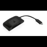 iogear GFR3C13 card reader Black USB 3.0 (3.1 Gen 1) Type-C