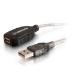C2G 5m USB A M/FM Cable cable USB Transparente