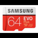 Samsung EVO Plus MB-MC64G 64GB MicroSDXC UHS-I Class 10 memory card