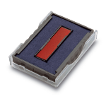 Trodat 6/4750/2 Replacement Ink Pad Red and Blue PK2