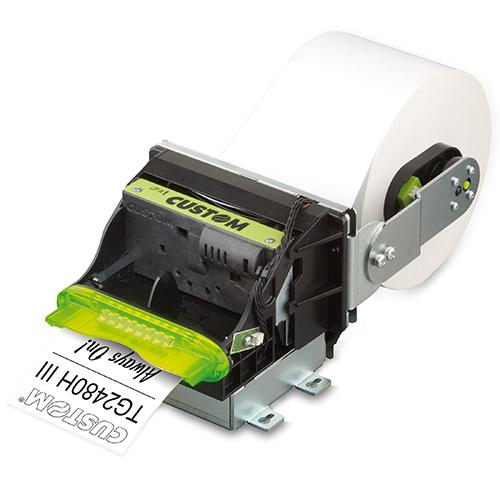 CUSTOM TG2480HIII Thermal POS printer 203 x 203 DPI Wired