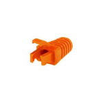 FDL RJ45 CABLE BOOT WITH LATCH PROTECTOR - ORANGE