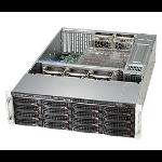 Supermicro 836BE1C-R1K03B Rack Black 1000 W