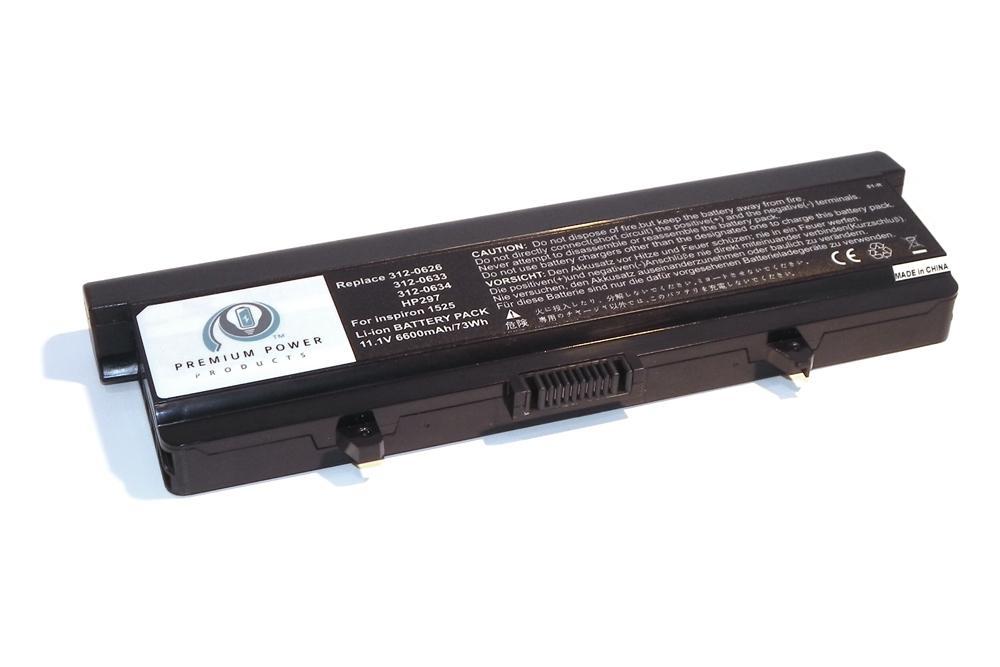 eReplacements Li-Ion 6600 mAh Lithium-Ion 6600mAh 11.1V rechargeable ...