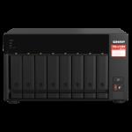 QNAP TS-873A-8G 144TB (Seagate Exos) 8-bay NAS; AMD Ryzen V1000 series V1500B 4C/8T 2.2GHz; 8GB DDR4 RAM;