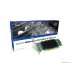 Matrox P69-MDDE256LAUF GDDR2 graphics card