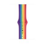 Apple MY1Y2ZM/A smartwatch accessory Band Mehrfarbig Fluor-Elastomer