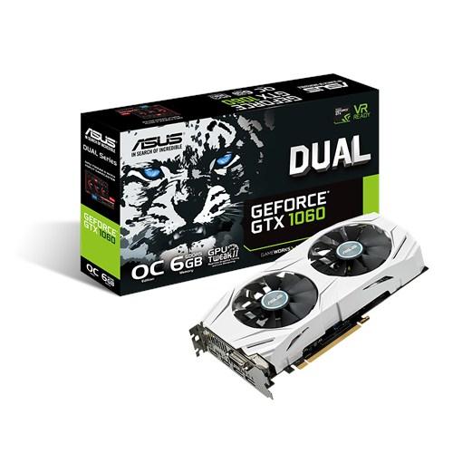 ASUS DUAL-GTX1060-O6G GeForce GTX 1060 6GB GDDR5