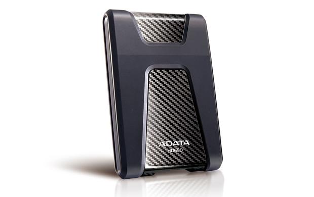 ADATA DashDrive Durable HD650 1000GB Black external hard drive