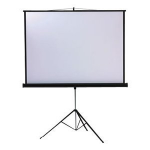 Metroplan Leader Tripod Screen 1:1 Black,White projection screen