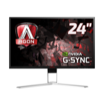 "AOC Gaming AG241QG computer monitor 60.5 cm (23.8"") 2560 x 1440 pixels Quad HD LED Flat Black,Red"