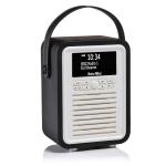ViewQwest Retro Mini radio Portable Digital Black,White
