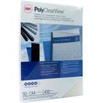 Ibico A4 POLYCLEARVIEW CVRS FRS CLR P50