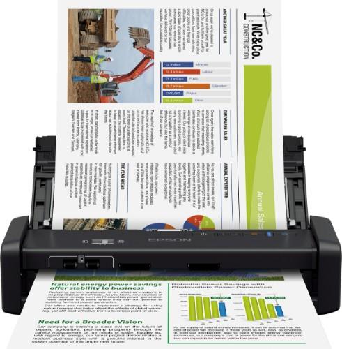 Epson WorkForce DS-360W ADF scanner 600 x 600 DPI A4 Black
