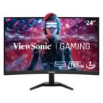 "Viewsonic VX Series VX2468-PC-MHD LED display 61 cm (24"") 1920 x 1080 pixels Full HD Black"
