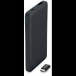 Belkin F7U019BTBLKBE power bank Black Lithium Polymer (LiPo) 5000 mAh