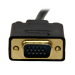 StarTech.com 3 ft DisplayPort to VGA Adapter Converter Cable – DP to VGA 1920x1200 - Black DP2VGAMM3B