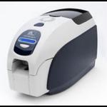 Zebra ZXP3 Pintar por sublimación/Transferencia térmica Color 300 x 300DPI Negro, Color blanco impresora de tarjeta plástica