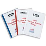 GBC Standard Thermal Binding Covers 3mm White (25)