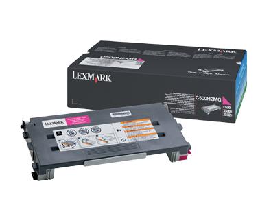 Lexmark C500H2MG cartucho de tóner Original Magenta 1 pieza(s)