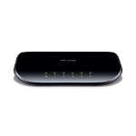 TP-LINK TL-SG1005D Unmanaged Gigabit Ethernet (10/100/1000) Black