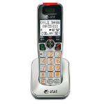 AT&T CRL30102 telephone handset DECT telephone Caller ID Silver