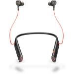 Plantronics Voyager 6200 UC In-ear, Neck-band Binaural Wireless Black mobile headset
