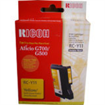 Ricoh 402281 (RC-Y 11) Ink cartridge yellow, 1000 pages