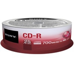 Sony 25CDQ80SP blank CD
