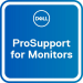 DELL Actualización de 3 años Basic Advanced Exchange a 3 años ProSupport for monitors