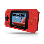 My Arcade Pixel Player portable game console Black,Red