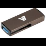 V7 Slide-In USB 3.0 Flash Drive 8GB grey USB flash drive