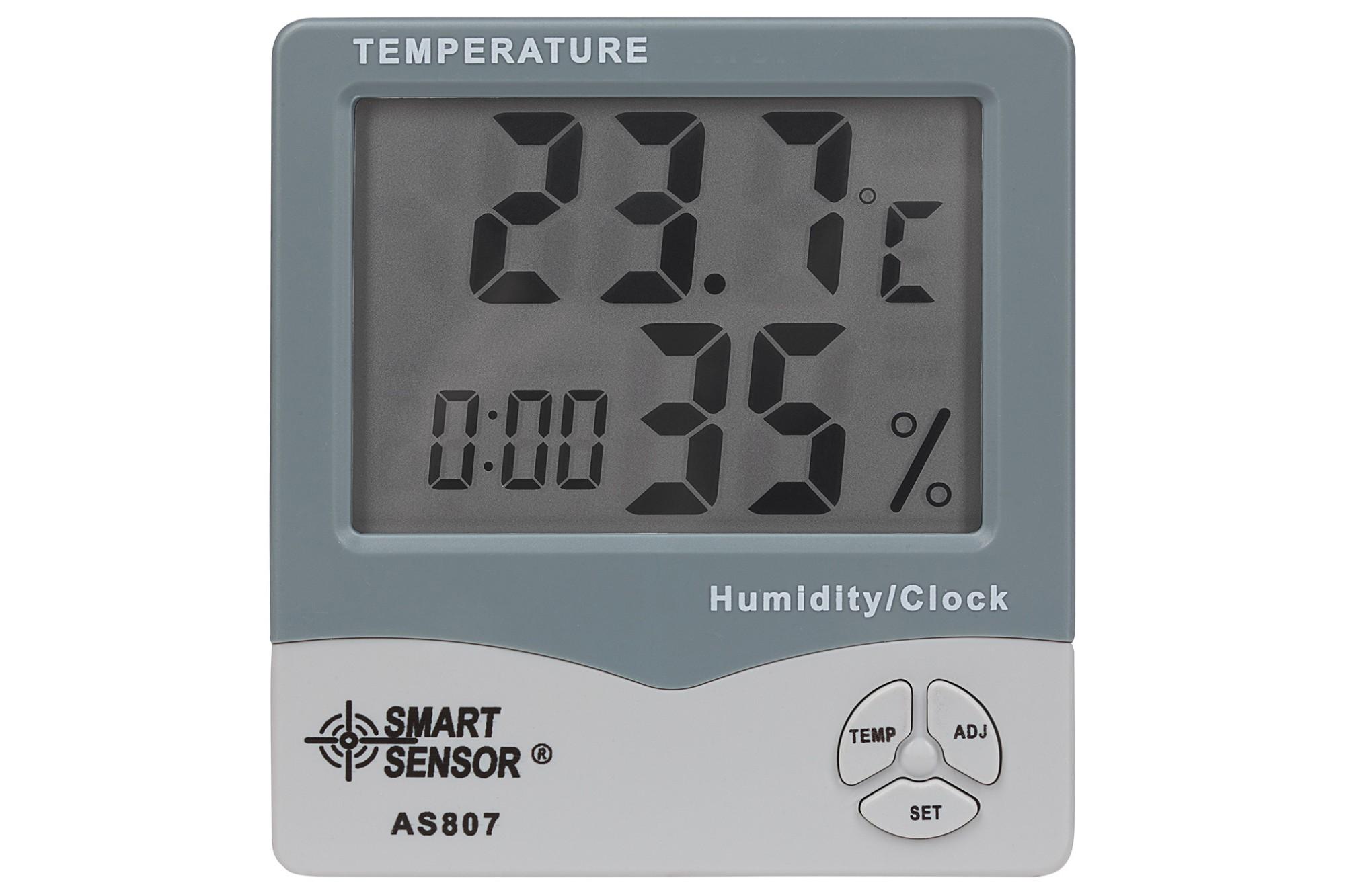 Sentient Sensor Humidity and Temperature Clock / Calender