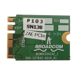 Hewlett Packard Enterprise Broadcom 802.11n dualband PCIe x1 Card