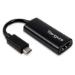 Targus ACA933EU adaptador de cable USB-C HDMI Negro