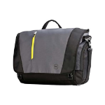 "DELL Tek Messenger notebook case 43.2 cm (17"") Messenger case Black, Grey, Yellow TK-MSG-GY-17-FY15"