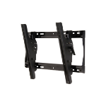 Peerless ST640P flat panel wall mount Black