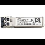 Hewlett Packard Enterprise toreVirtual 3000 8Gb 2-pack Short Wave Fibre Channel SFP+ Vezel-optiek 850nm 8000Mbit/s SFP+ netwerktransceivermodule