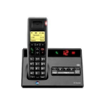 British Telecom BT 7150 R DECT telephone Caller ID Black
