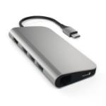 Satechi ST-TCMAM interface hub USB 3.0 (3.1 Gen 1) Type-C 1000 Mbit/s Grey