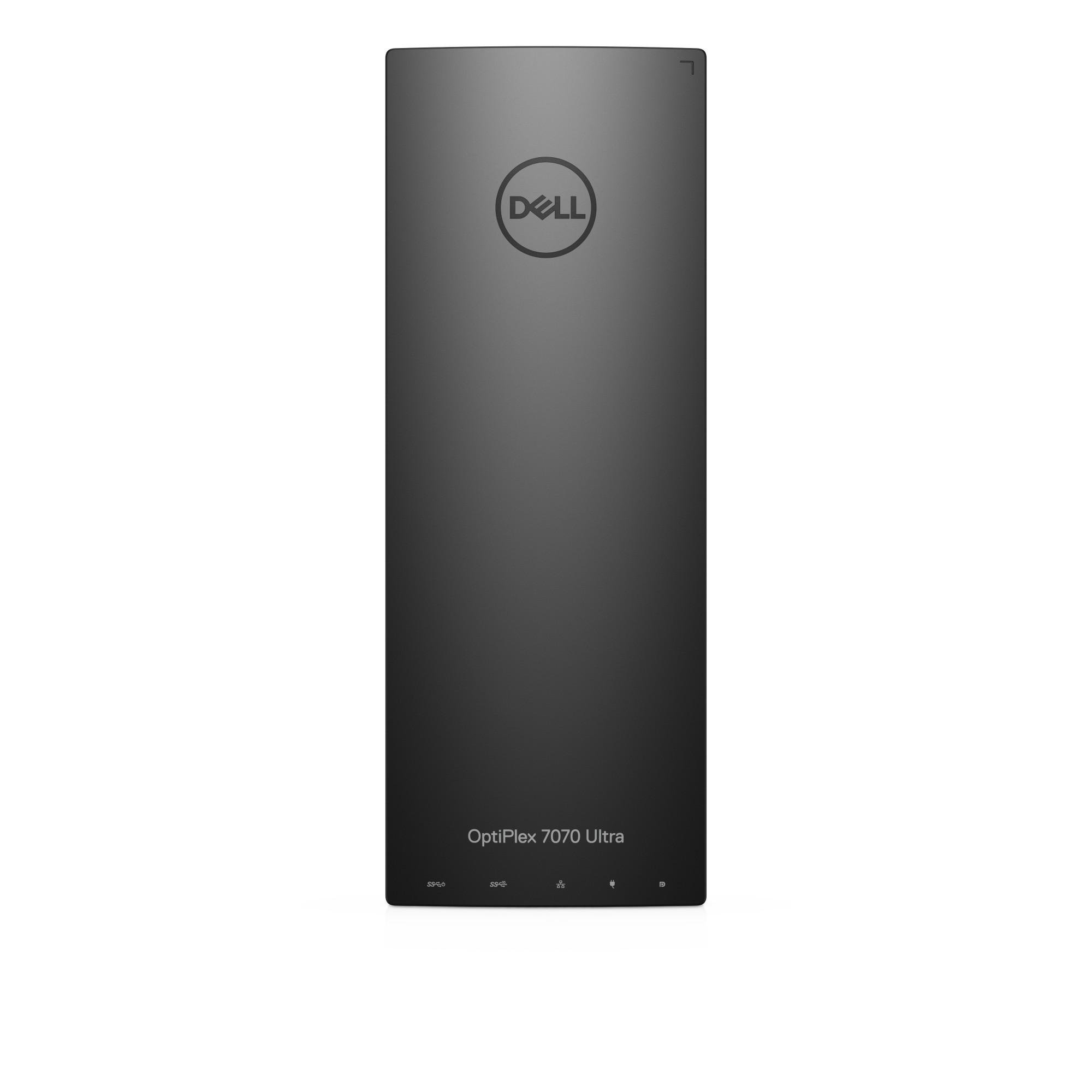 DELL OptiPlex 7070 UFF 8th gen Intel® Core™ i5 i5-8365U 8 GB DDR4L-SDRAM 256 GB SSD Black Mini PC Windows 10 Pro