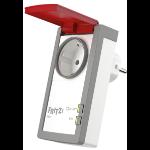 FRITZ! DECT 210 enchufe inteligente Gris, Rojo, Blanco 3450 W