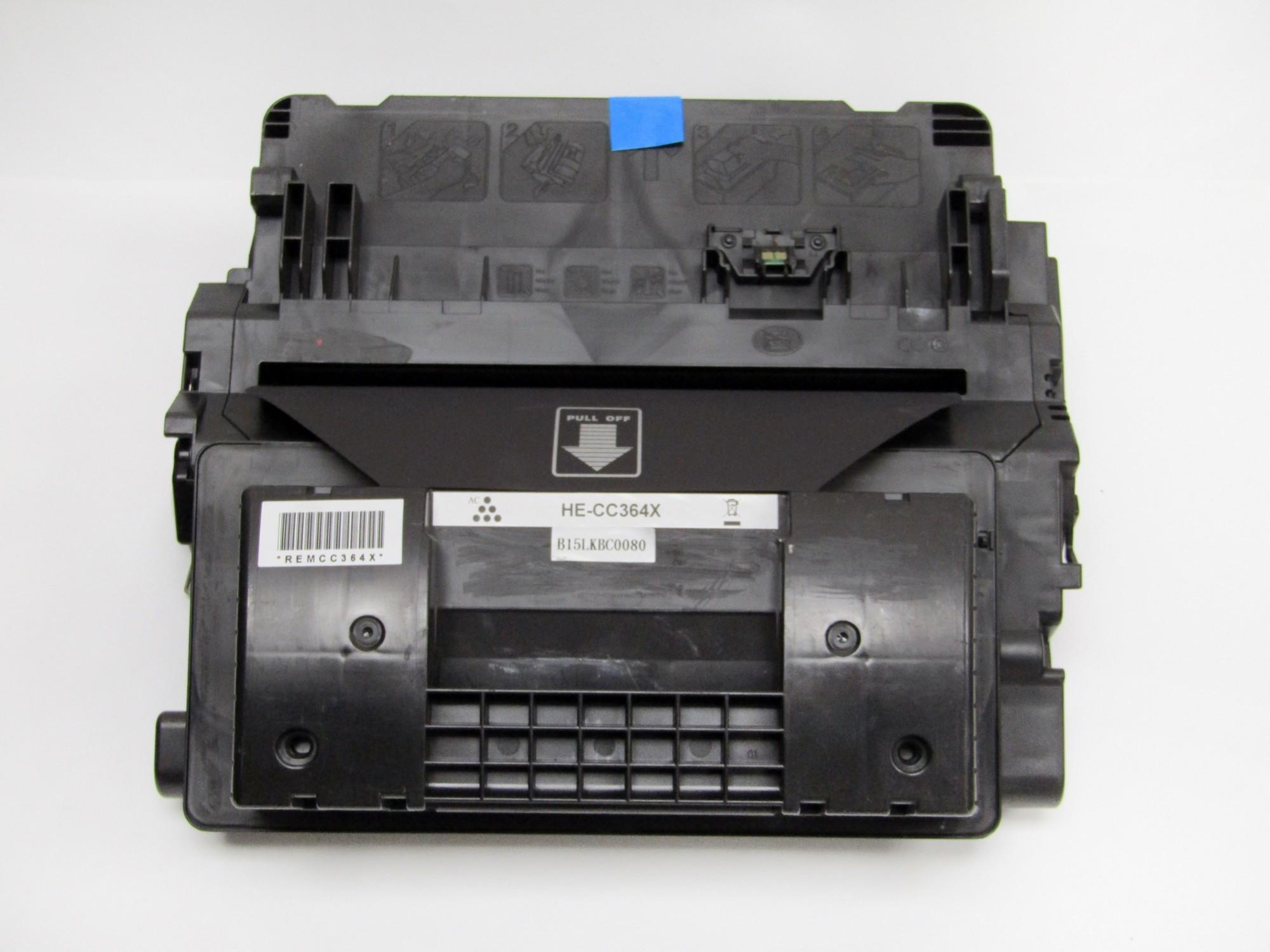 Remanufactured HP CC364X (64X) Black Toner Cartridge