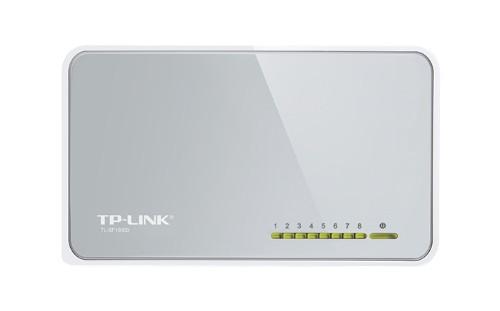 TP-LINK 8-Port 10/100Mbps Desktop Switch Unmanaged White
