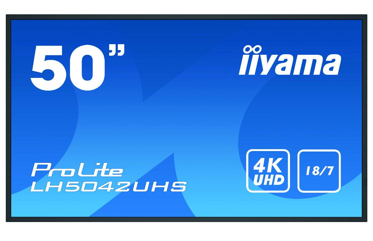 iiyama LH5042UHS-B1 signage display 125.7 cm (49.5