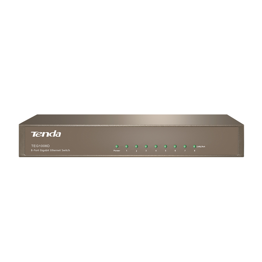 Tenda TEG1008D Ethernet LAN Grey wired router